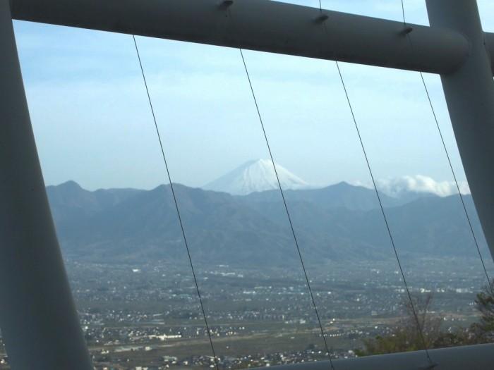 調理室からは富士山が見えました♪